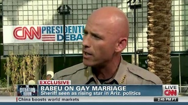 Outed gay sheriff cleared in abuse of power probe