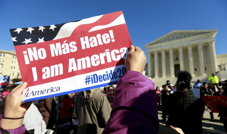 Immigrants in limbo as high court weighs Obama action