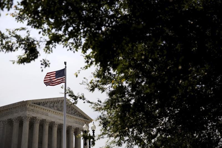A general view of the U.S. Supreme Court building in Washington. — PHOTO: REUTERS/Carlos Barria