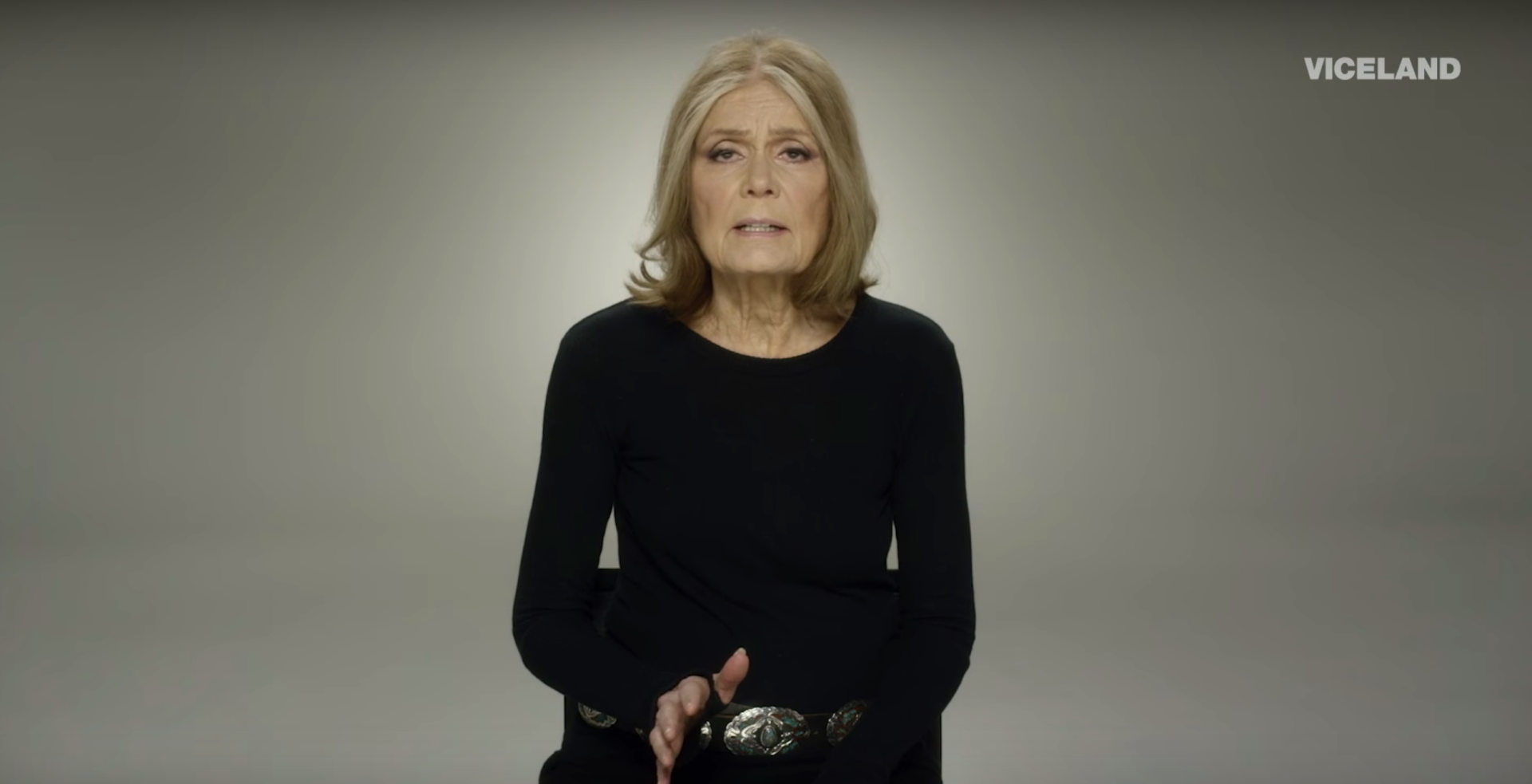 Gloria Steinem turns to TV to fight gender-based injustice