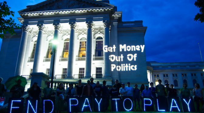 Wisconsin communities vote to amend, overturn Citizens United