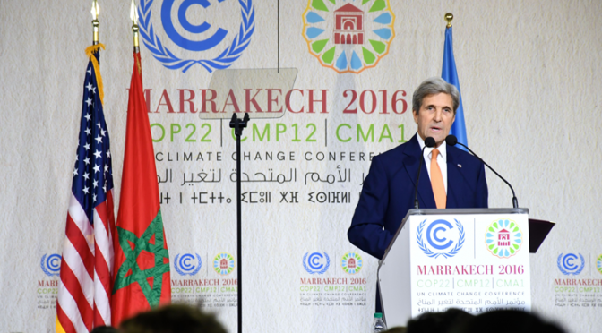 Secretary Kerry: Obama's climate change targets won't be reversed