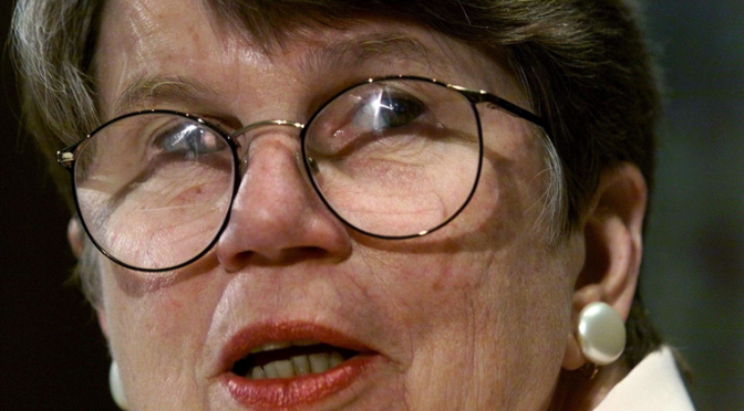 Janet Reno, 1st woman U.S. attorney general, has died at age 78