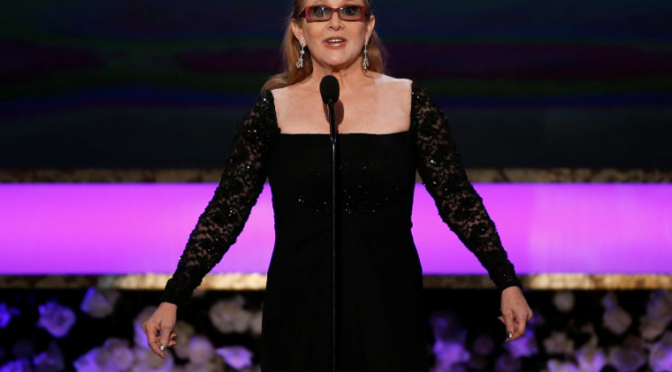 Actress Carrie Fisher dies at age 60