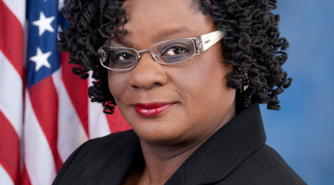 U.S. Rep. Gwen Moore wants Trump to see her, front and center