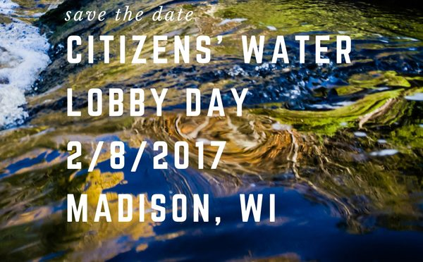 Wisconsin grassroots groups to hold water safety event Feb. 8 in Madison